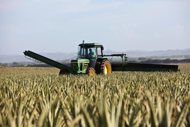 Landbrug rimer på store maskiner